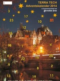 Titelbild des TERRA TECH Adventskalender 2014