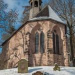 Das Michelchen in Marburg im Schnee