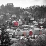 Blick in die verschneite Ketzerbach