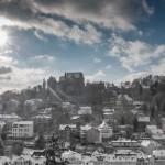 Marburg als Winterlandschaft