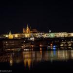 Prague: Castle by night