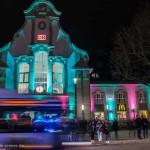 Bahnhof bei der Marburg b(u)y Night