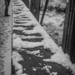 Schneemann bauen an der Lahn