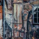 Bemaltes Haus in Erfurt