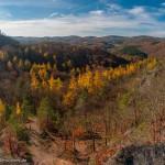 Wartburg und Herbstlandschaft