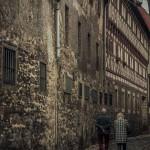 Gasse in Erfurt
