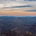 Herbstlandschaft an der Wartburg