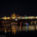 Prague: Castle by night
