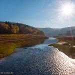 Landschaft und Gegenlicht