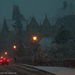 Alte Uni im Schnee