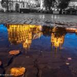Erfurter Dom als Spiegelung