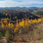 Herbstlandschat an der Wartburg